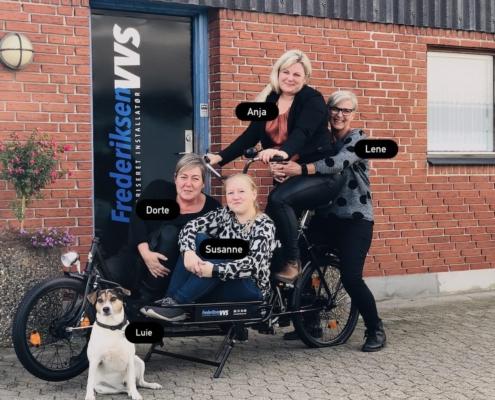 Frederiksen VVS kontorteam